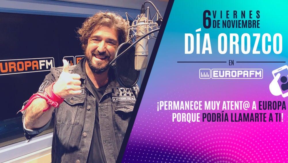 Día Orozco en Europa FM