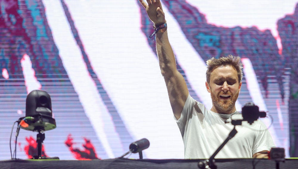 David Guetta durante el festival Ultra de Croacia