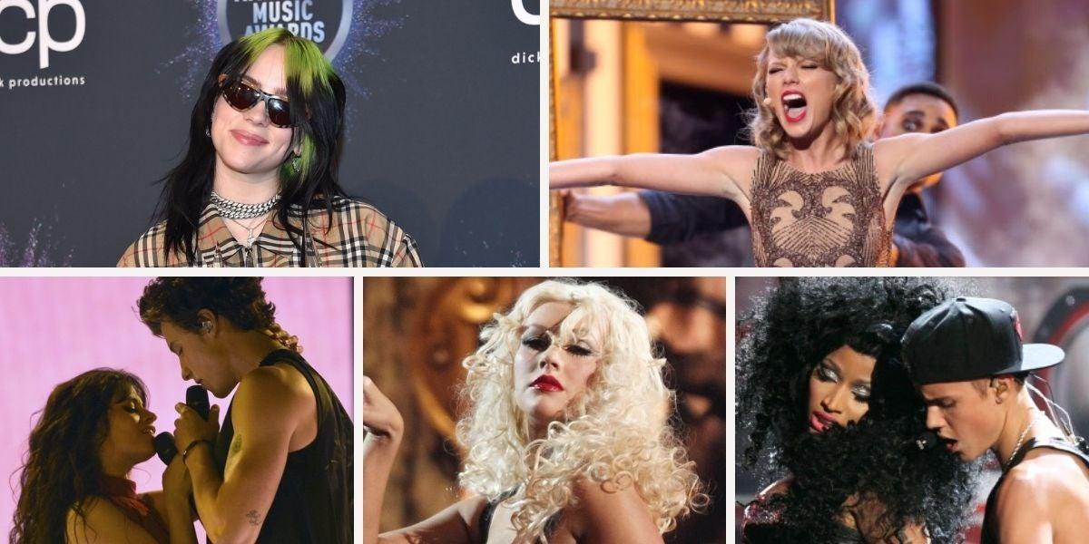 Las mejores actuaciones de los 10 últimos años de los AMAs