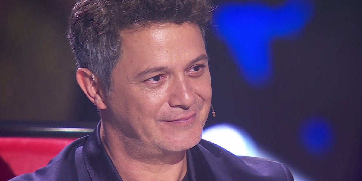 Alejandro Sanz elogia a Paula Espinosa en 'La Voz'