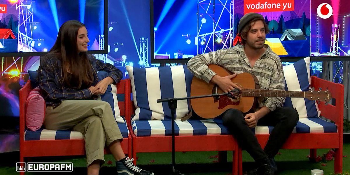 Delaporte y Roi Méndez en 'yu Music'