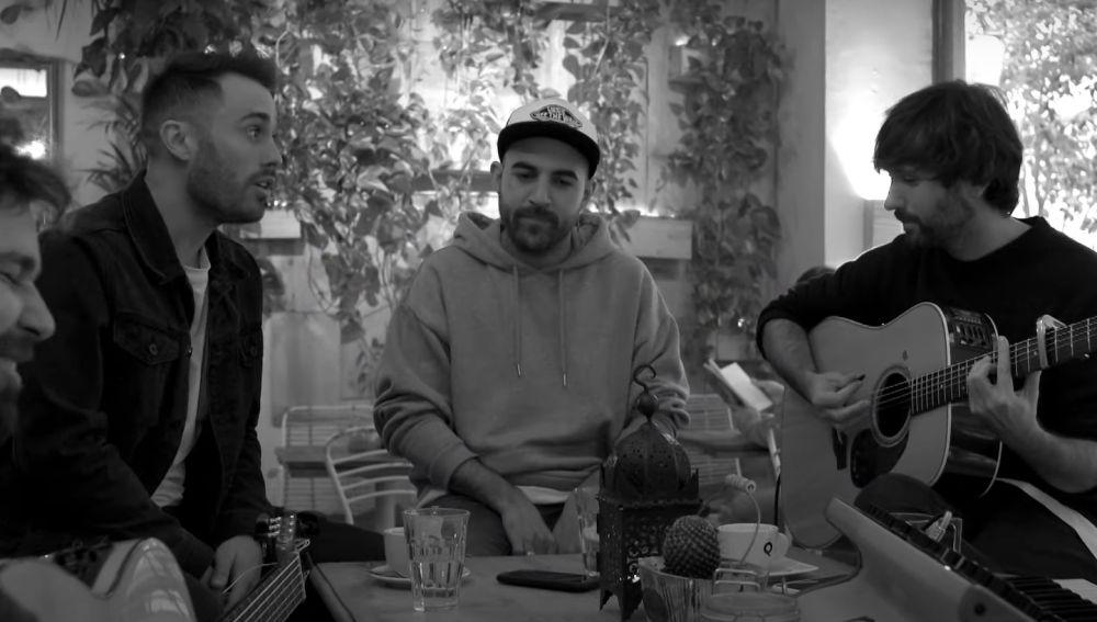 Arnau Griso, Nil Moliner y David Otero en 'Una vez más'