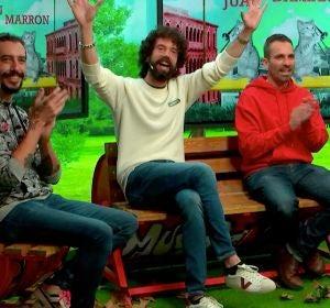 Juan, Damián y Marron