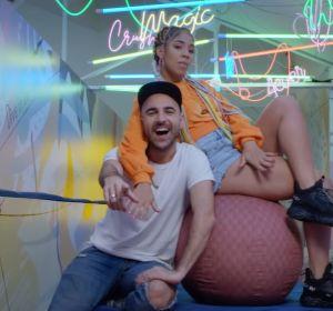 Nil Moliner y Lennis Rodriguez en 'Bailando'