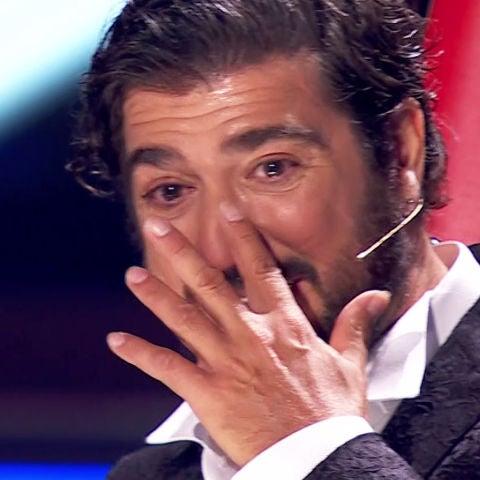 Antonio Orozco, en un mar de lágrimas con mensaje sorpresa de su hijo Jan 'La Voz'