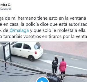 El tuit viral del altavoz que han puesto en Málaga con villancicos