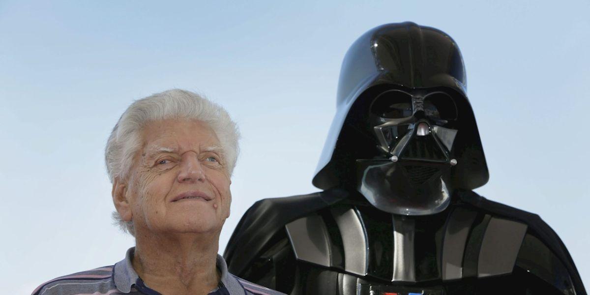 """El actor David Prowse, que interpretó el papel de Darth Vader en la saga original de """"La Guerra de las Galaxias"""""""
