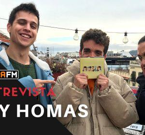 Entrevista a Stay Homas en Europa FM