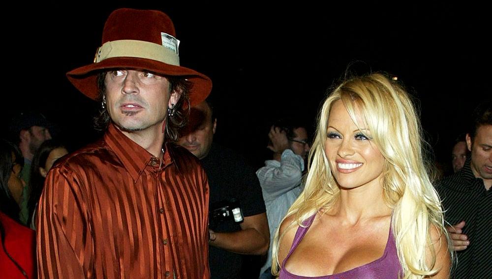Pamela Anderson y Tommy Lee