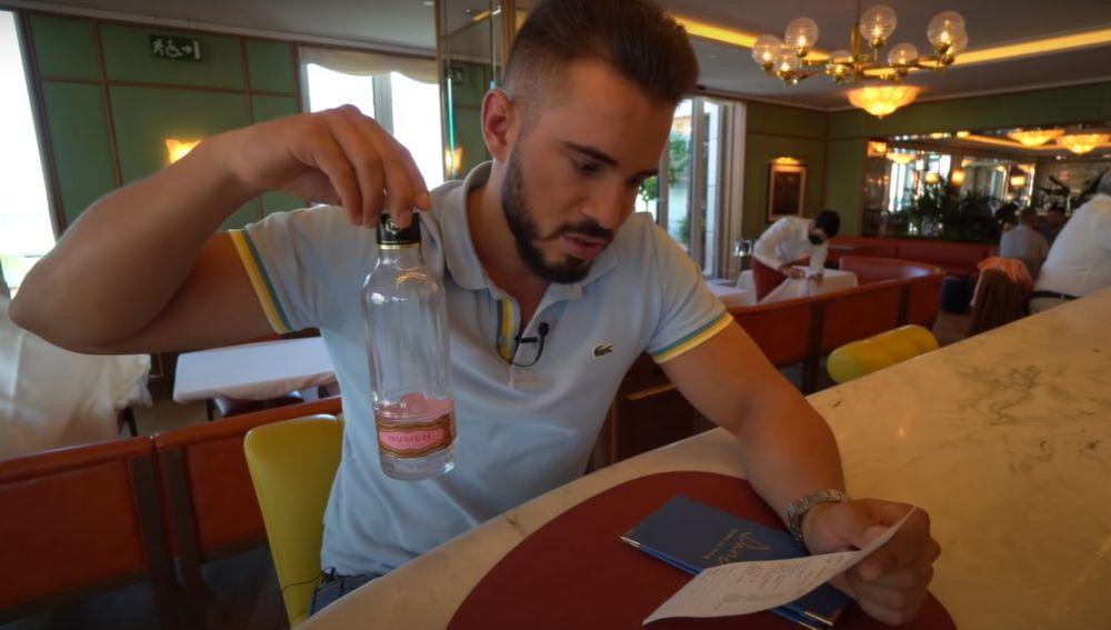 El Youtuber Cenando con Pablo en el restaurante de Dani García, Dani Brasserie