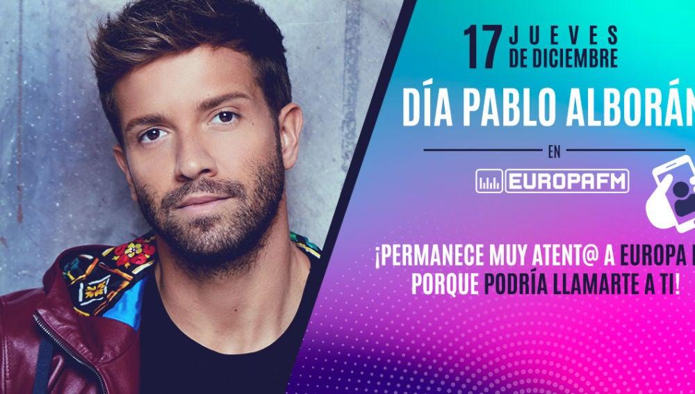 Día Pablo Alborán en Europa FM
