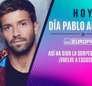 Pablo Alborán sorprende a Tamara en Europa FM