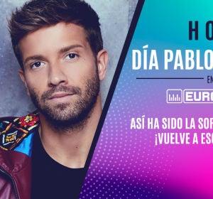 Pablo Alborán le canta 'Prometo' a Lourdes en Europa FM