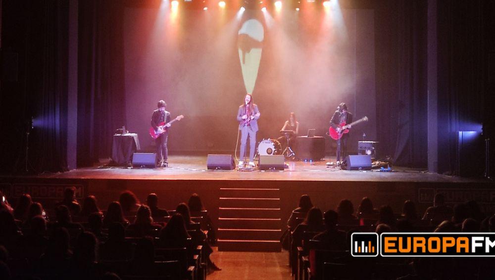 Carlos Sadness en el showcase exclusivo de Europa FM