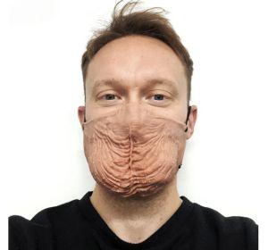 La mascarilla con forma de escroto que arrasa en ventas