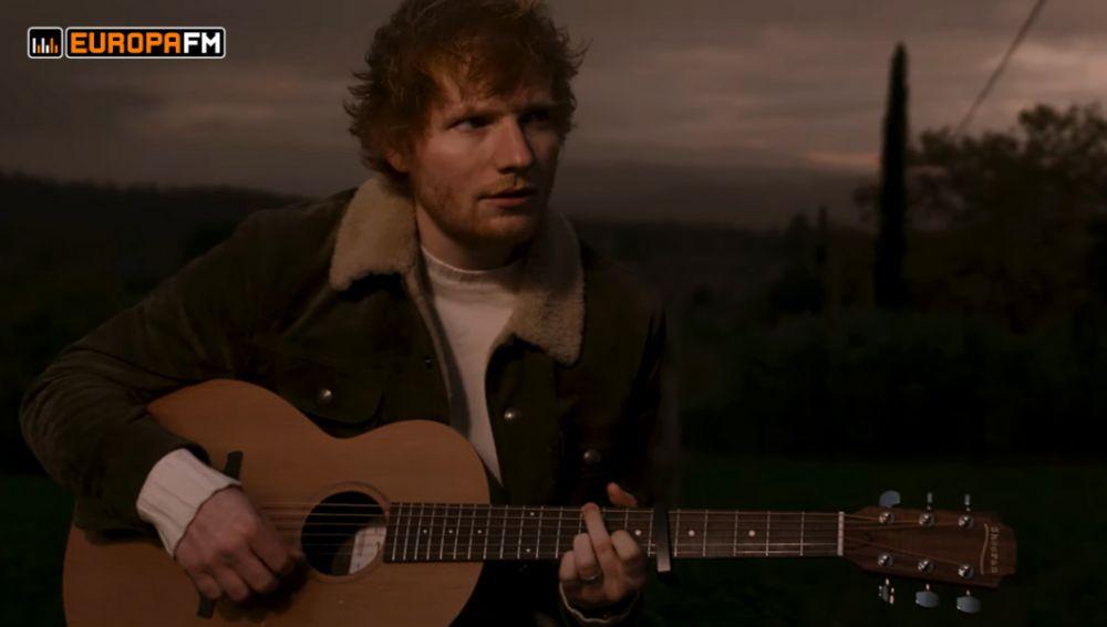 Ed Sheeran en el vídeo de 'Afterglow'