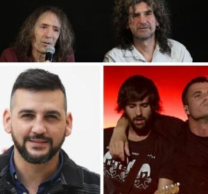 El mashup que une a El Canto del Loco, Pignoise, Amaral, Extemoduro o Fran Perea en una canción