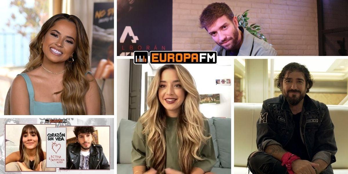 Elige tu entrevista favorita de Europa FM