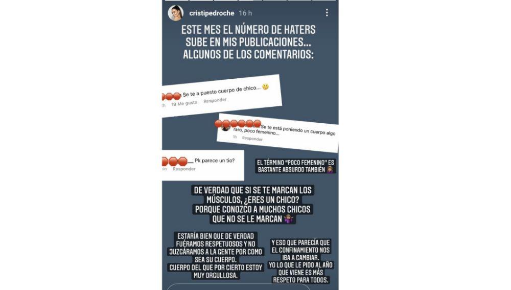 Cristina Pedroche responde a sus 'haters'