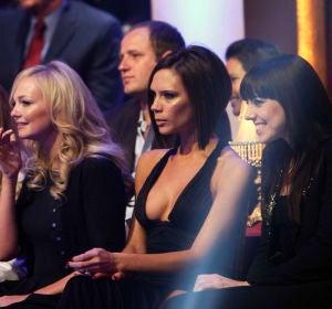 Victoria Beckham con las Spice Girls