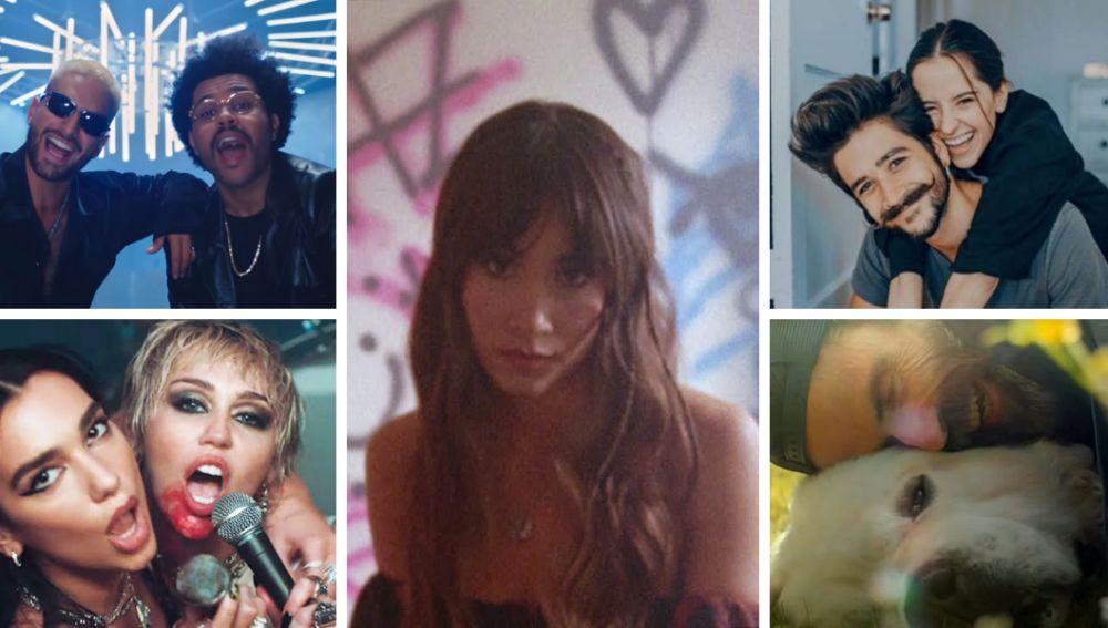 Lista Europa FM: Aitana, Camilo, Miley Cyrus, Dua Lipa, Maluma....