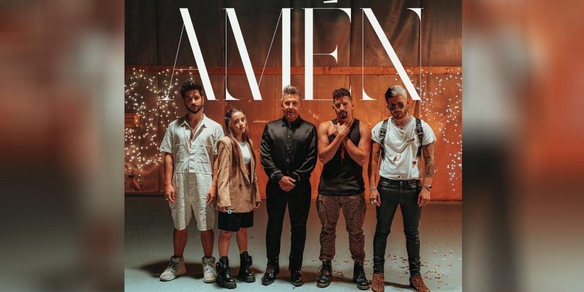 'Amén', lo nuevo de Ricardo Montaner, Camilo, Eva Luna, Mau y Ricky