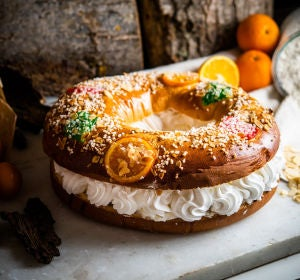 Roscón de Reyes de Levaduramadre Natural Bakery