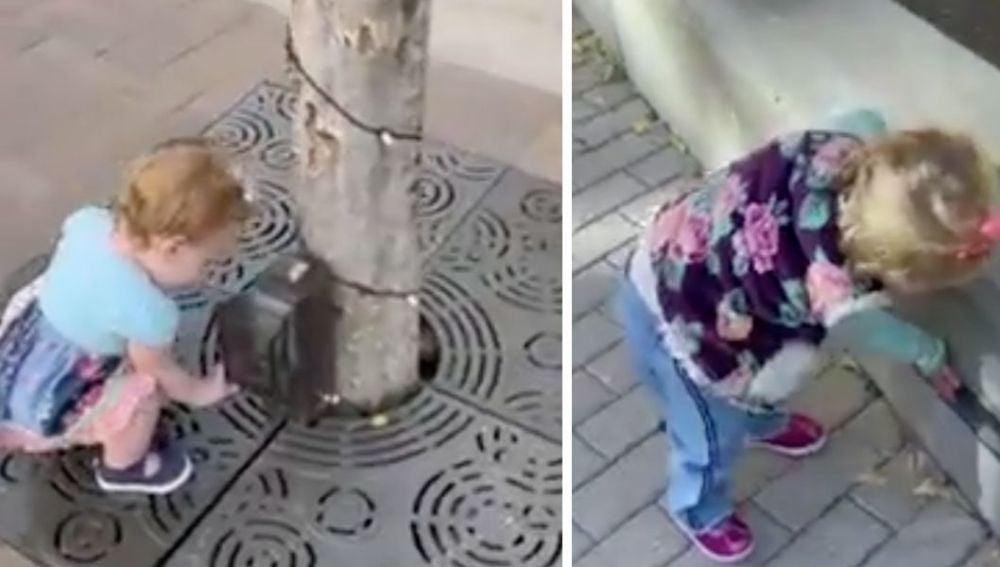 El adorable vídeo de una bebé de un año que lo confunde todo con un dispensador de gel hidroalcohólico
