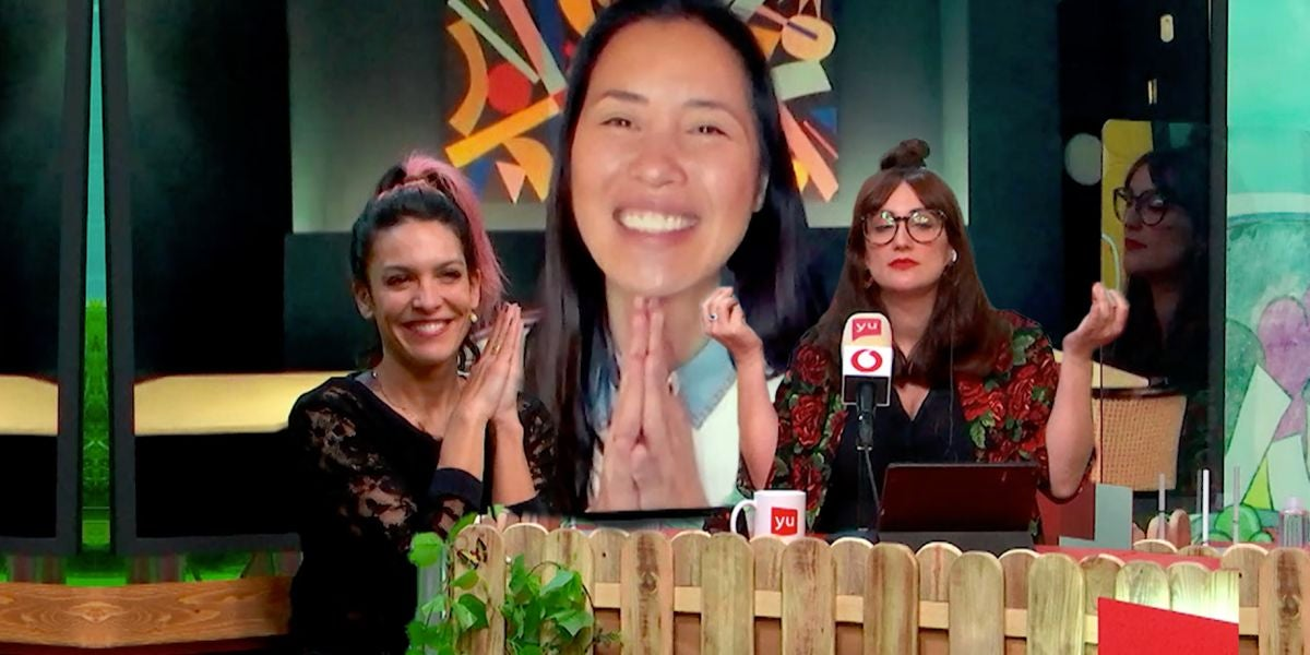 Lorena Castell, Xuan Lan y Ana Morgade