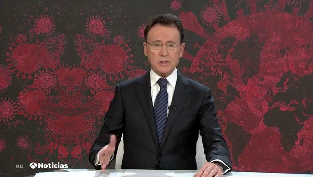 El presentador de Antena 3 Noticias, Matías Prats