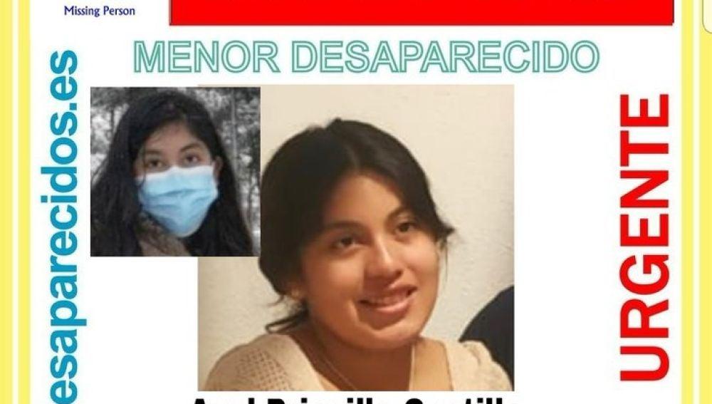 Azul Priscilla Castillo, desaparecida en Madrid