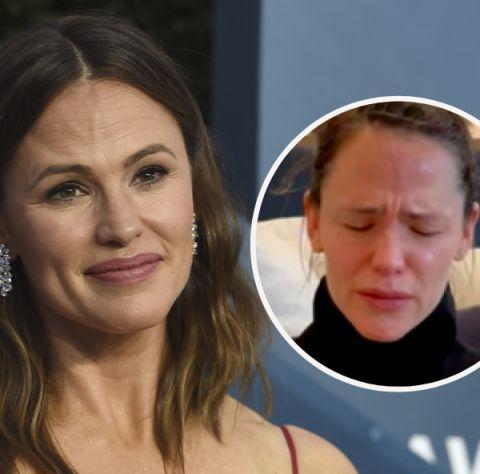 Jennifer Garner rompe a llorar en un directo de Instagram