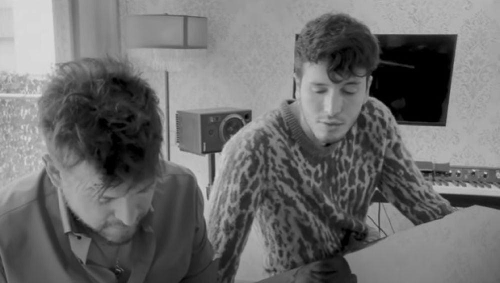 Pablo López y Sebastian Yatra en su canción 'Adiós'