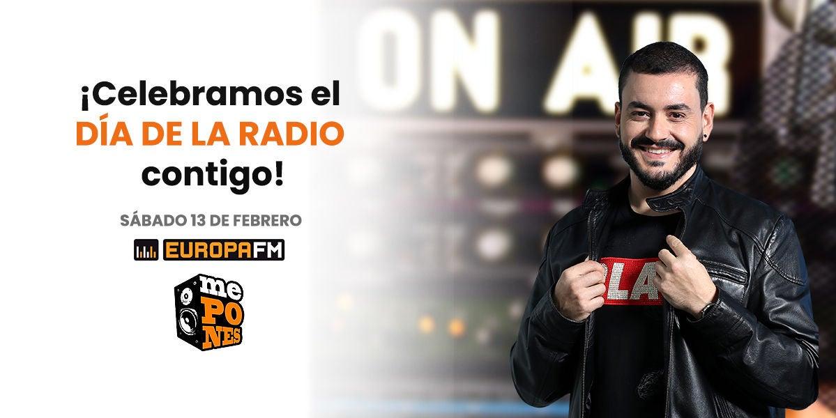 Celebra el Día de la Radio en Europa FM