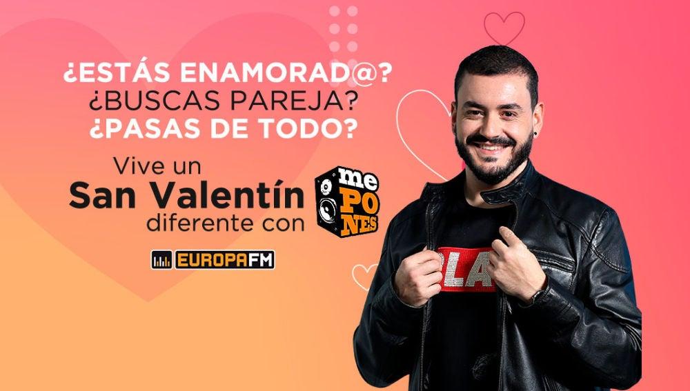 Vive San Valentín con Juanma Romero en ¿Me Pones?