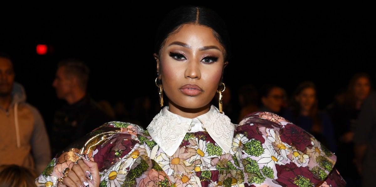 Nicki Minaj en el desfile de Marc Jacobs