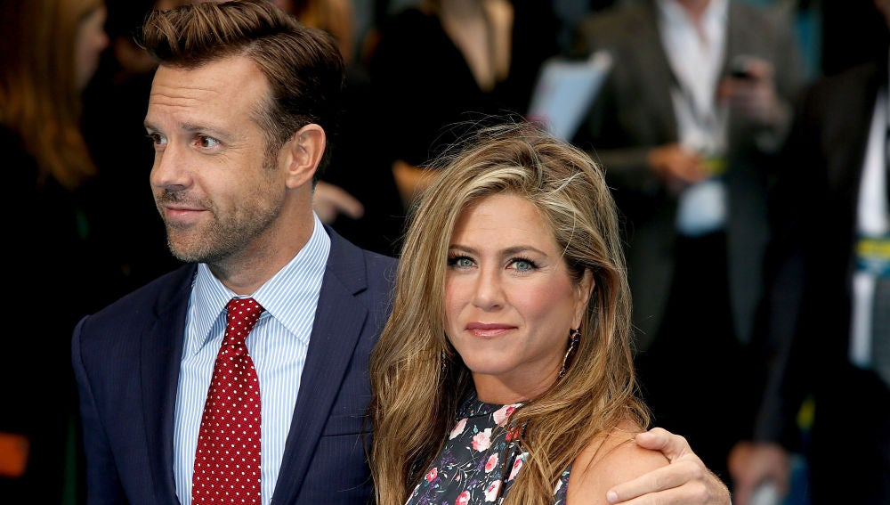 Jason Sudeikis y Jennifer Aniston