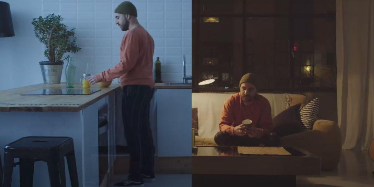 Nil Moliner en el videoclip de 'Mejor Así'
