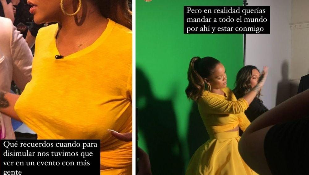 El día que Laura Escanes conoció a Rihanna