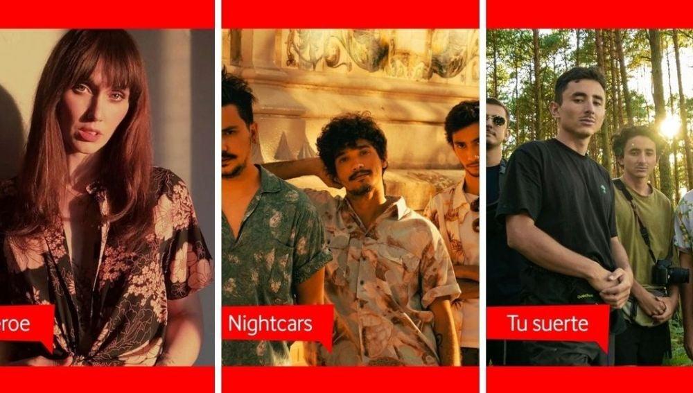 Los finalistas del Vodafone yu Music Talent