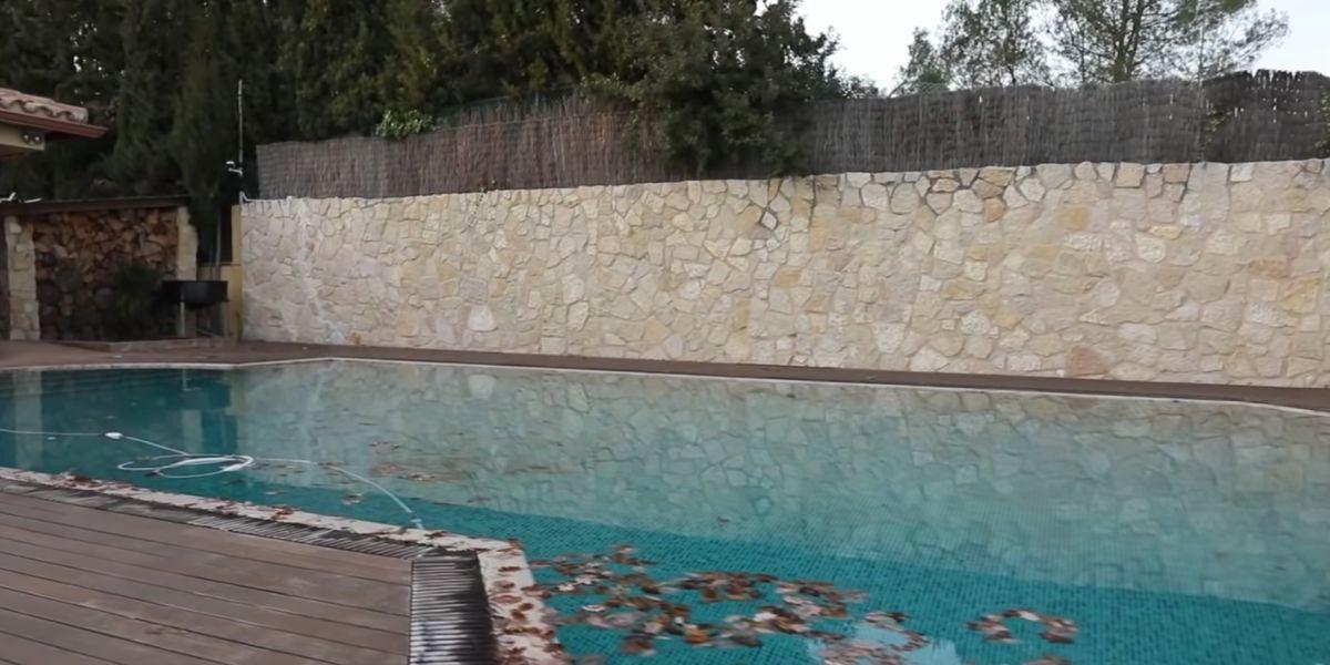 La piscina de la casa de Ibai Llanos.