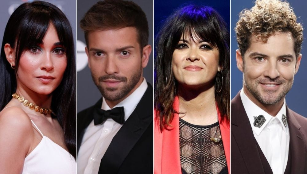 Aitana, Pablo Alborán, Vanesa Martín y David Bisbal, entre los nominados a los Premios Odeón 2021.
