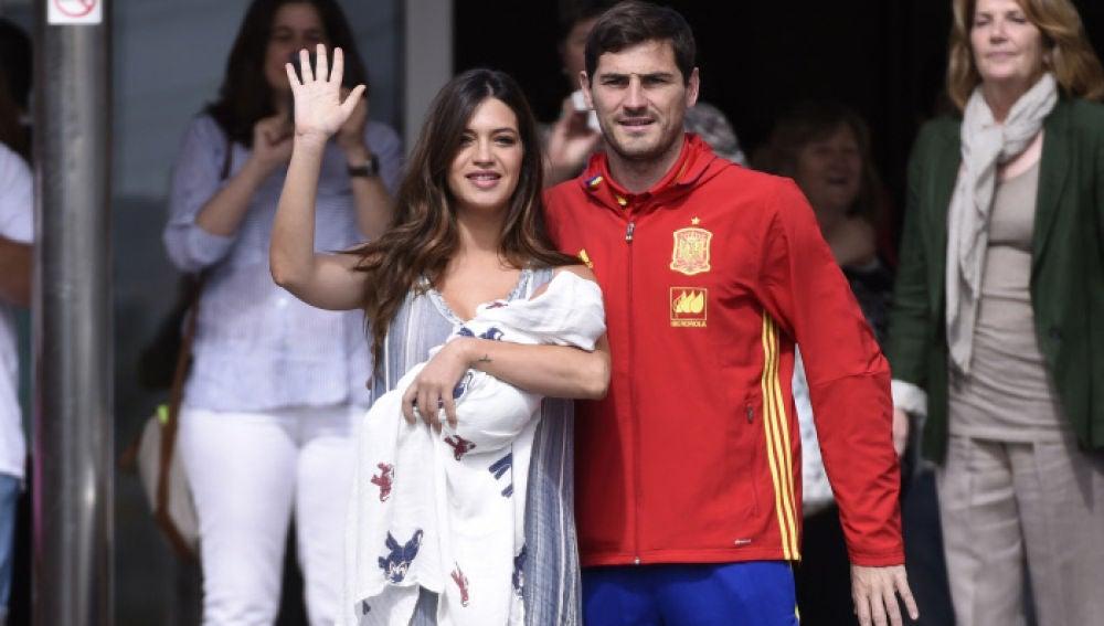 Nacimiento de Lucas, hijo de Iker Casillas y Sara Carbonero