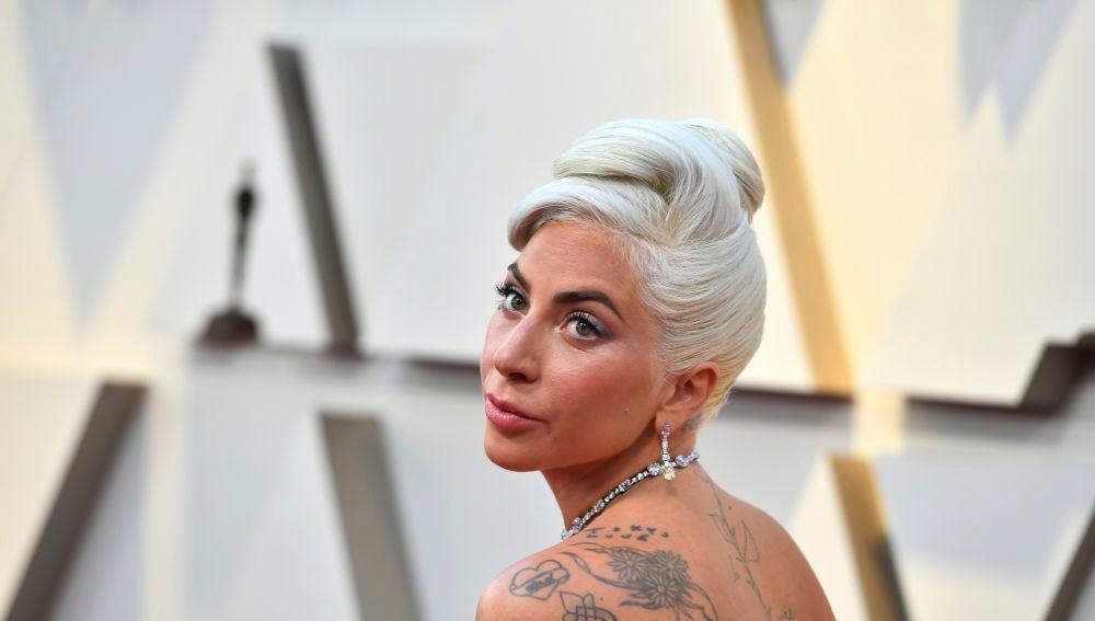 Lady Gaga, en la gala de los Oscar 2021.