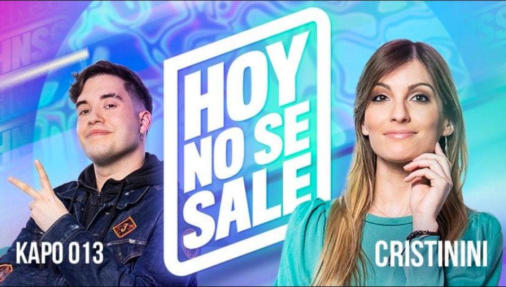 Cristinini presenta el programa de entrevistas 'Hoy no se sale'.