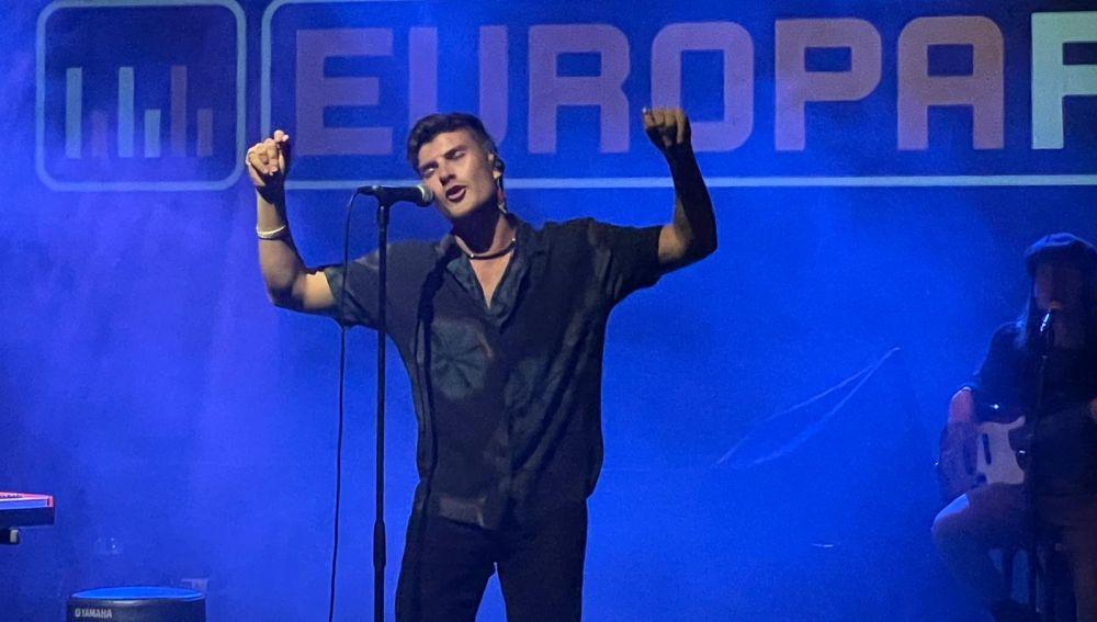 DVICIO, durante su concierto en Palma de Mallorca.