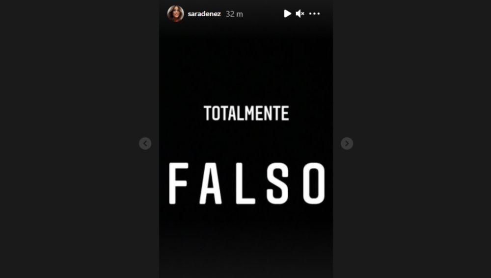 Sara Dénez se pronuncia sobre su relación con Iker Casillas