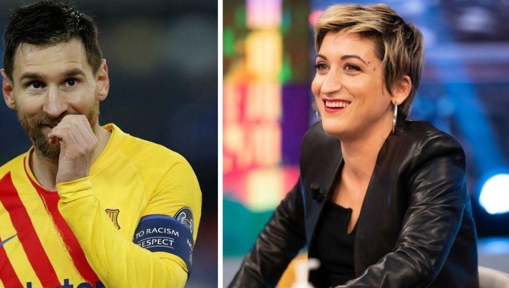Susi Caramelo cuenta por qué rechazó a Leo Messi cuando el futbolista la invitó a su casa una noche