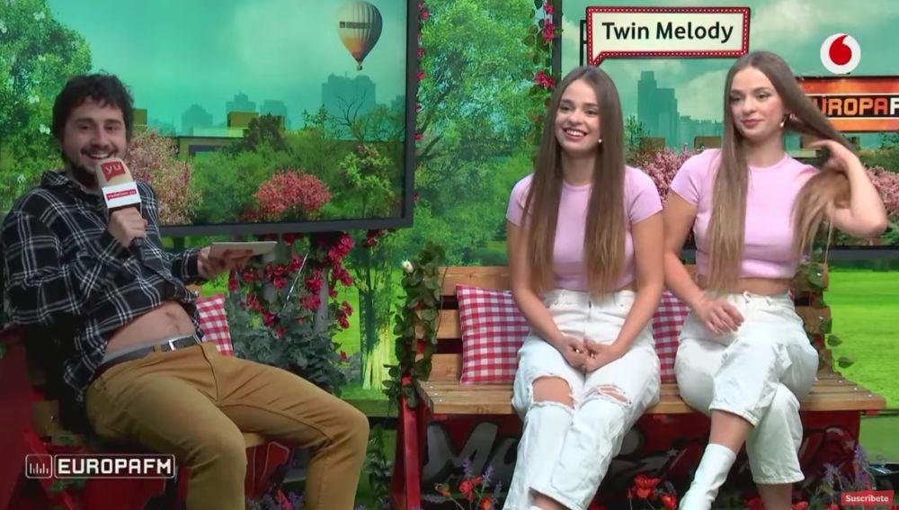 Twin Melody visitan 'yu No te pierdas nada' (8/04/2021)