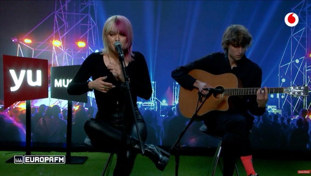 Alba Reche canta 'Pido tregua' en 'yu Music'